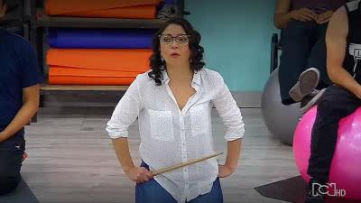 La actriz Diana Belmonte