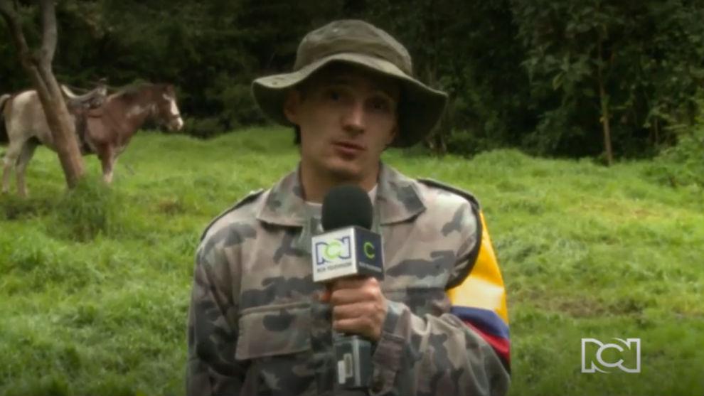 Pedro Suárez, un guerrillero en la serie, habló de cómo construyó su personaje