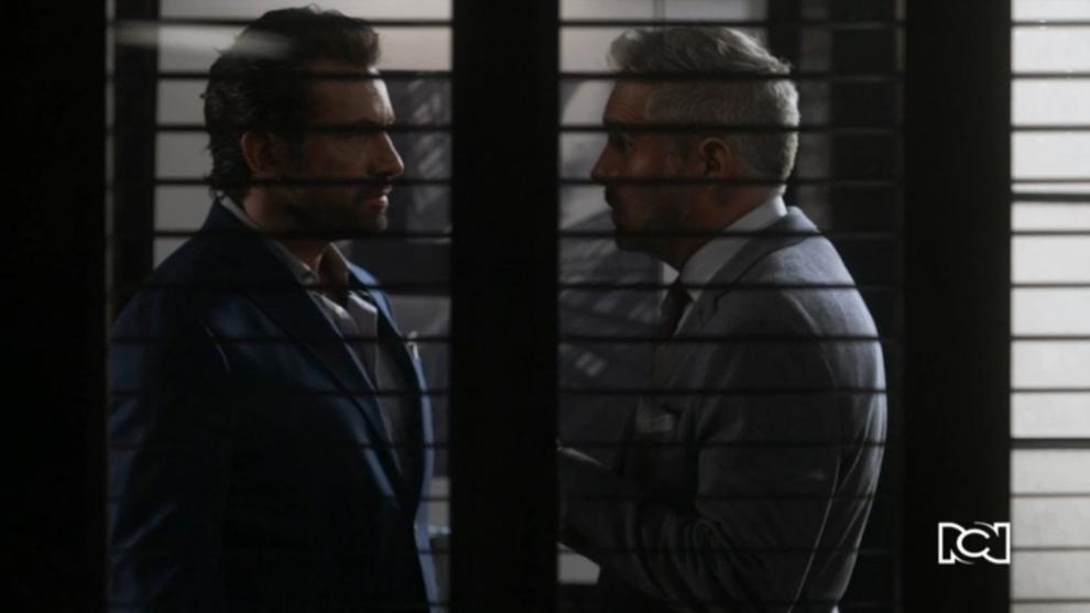 Andrés confronta a Damián