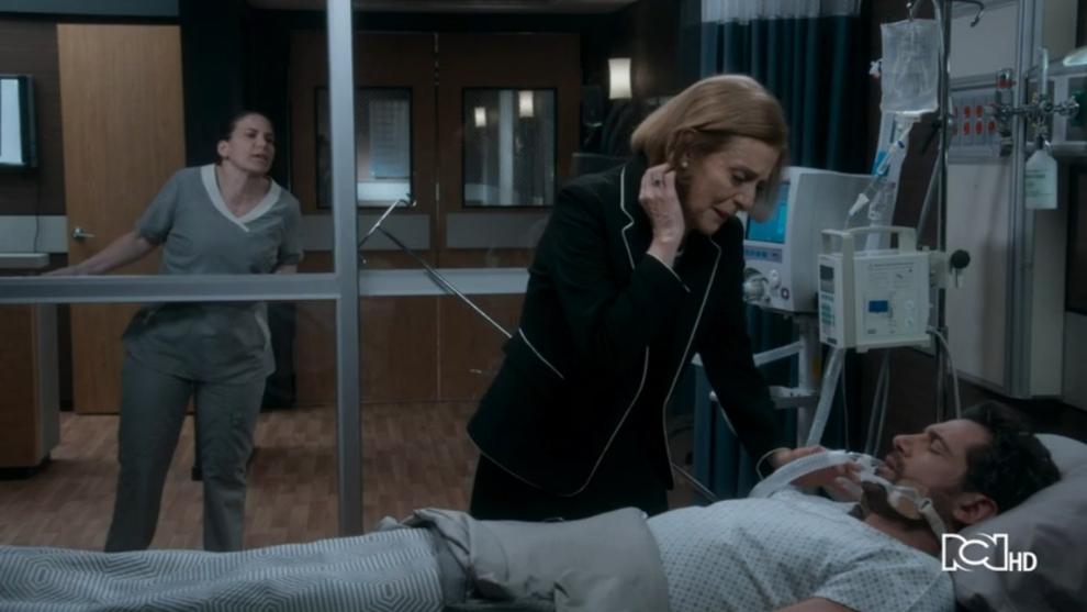 Miriam desconecta a Damián