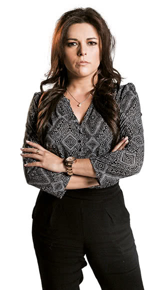 Gloria Lozano, periodista de 4 Caminos