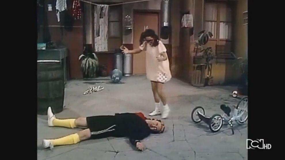 Doña Florinda cree que atropellaron a Kiko