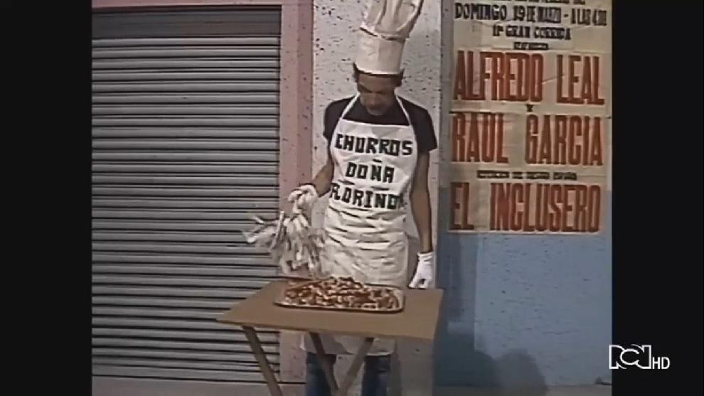 Don Ramón vende churros