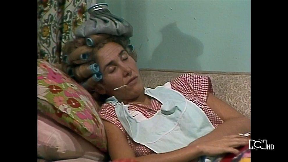 Cuidan a doña Florinda enferma