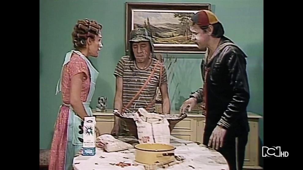 Capítulo 237 | Doña Florinda prepara churros para vender
