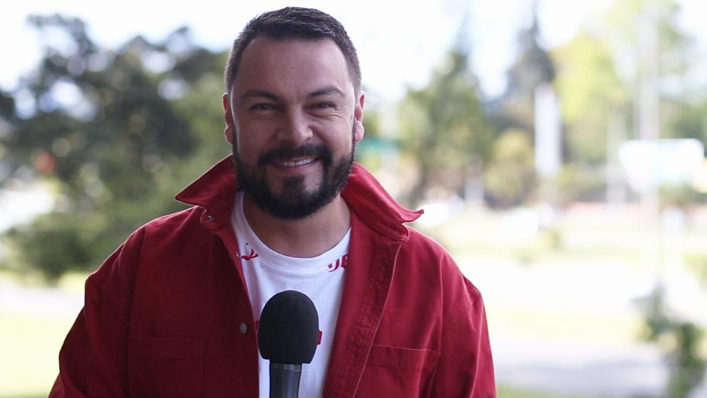 Andrés López, integrante de El Desayuno de RCN