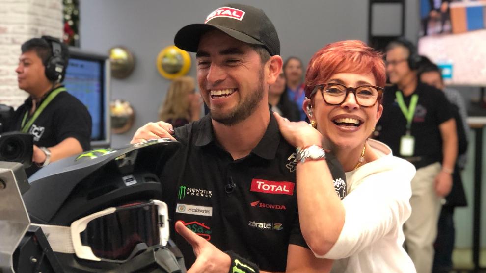 El piloto colombiano Christian Cajicá nos cuenta detalles de lo que será el Rally Dakar 2019