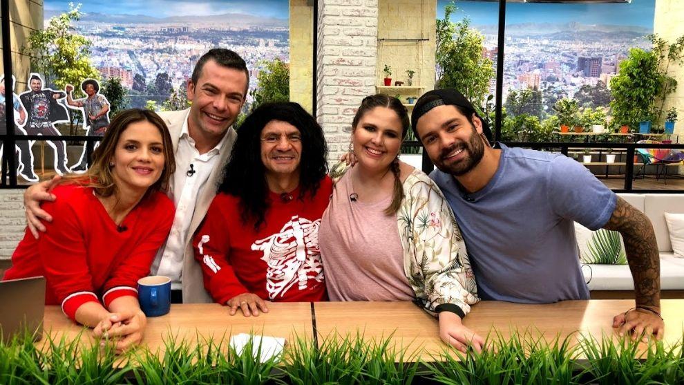 El humorista Juan Ricardo Lozano estuvo en el programa con dos de sus divertidos personajes: el 'Cuenta huesos' y el 'Chef Güevara'.