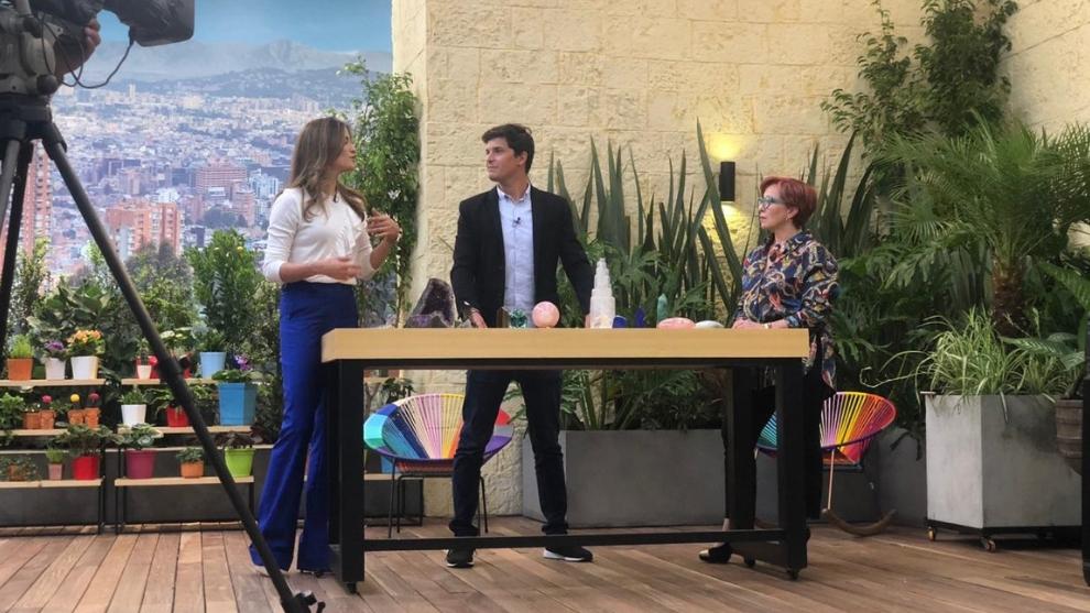 Diego Porras invitado experto en cristales