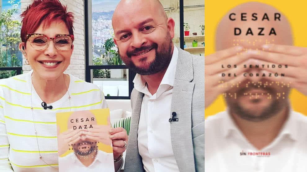 Conoce la labor de inclusión social del escritor colombiano César Daza