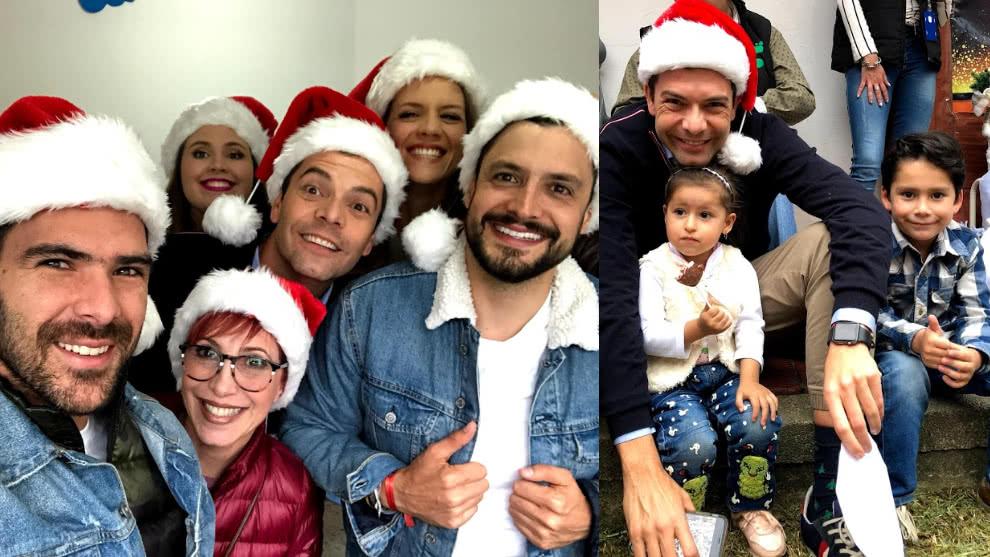 Presentadores de El Desayuno visitaron la Fundación Carlos José Ramón para dar y recibir amor