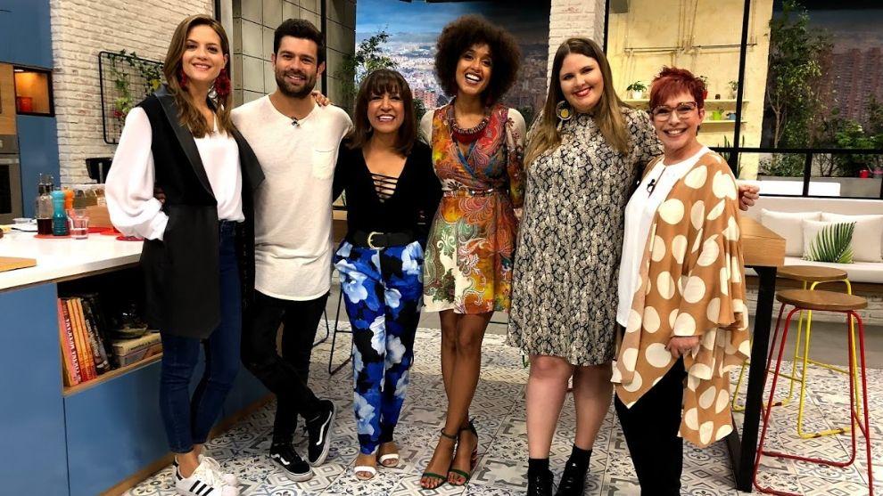 ¡Jeimy Osorio, la actriz que interpretó a Celia Cruz en su juventud, en El Desayuno!