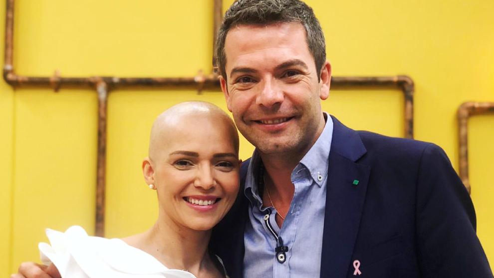 Jenny Camacho en El Desayuno hablando sobre el cancer de seno