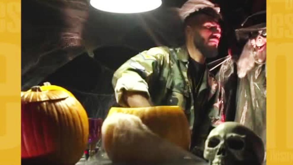 Jugadores de PSG se llevaron un gran susto por broma de Halloween