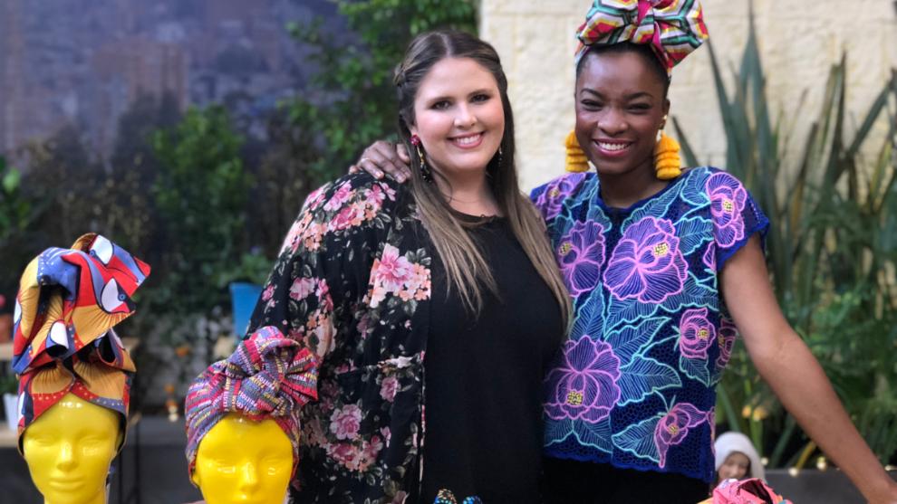 La Tienda de Macla: tutorial de Miss Balanta para hacer un turbante