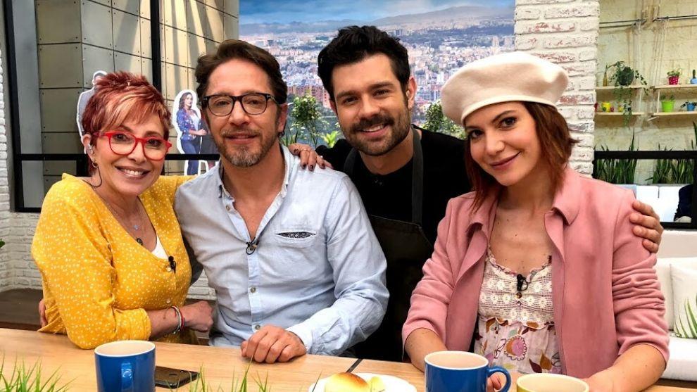"""Manuel Sarmiento y Diana Wiswell nos hablaron sobre sus personajes en """"Pa Quererte"""""""