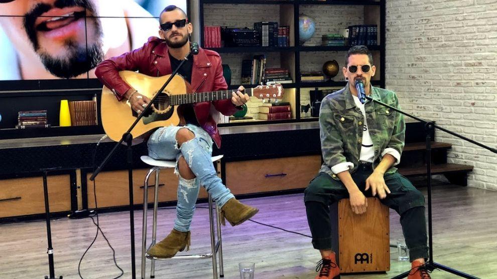 Disco platino y de oro: la premiación de Mau y Ricky en El Desayuno