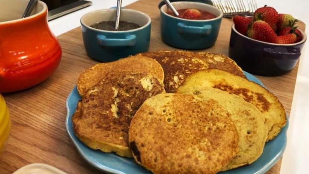 Recetas de pancakes en El Desayuno