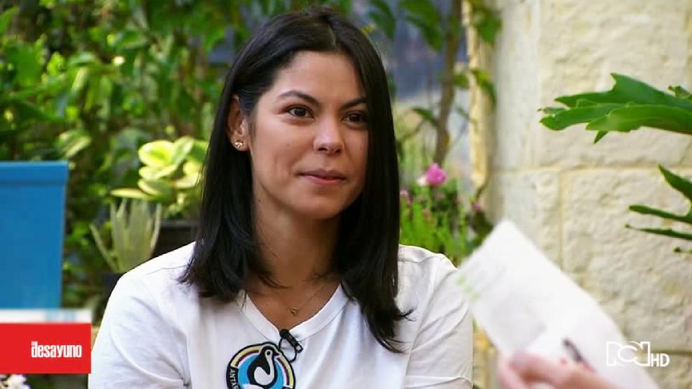 Paola Tello en El Desayuno
