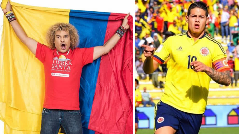 El look de las estrellas de la selección Colombia de los años 90s