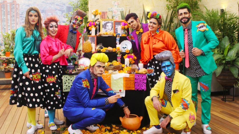 Presentadores de El Desayuno sorprenden con sus disfraces de Halloween