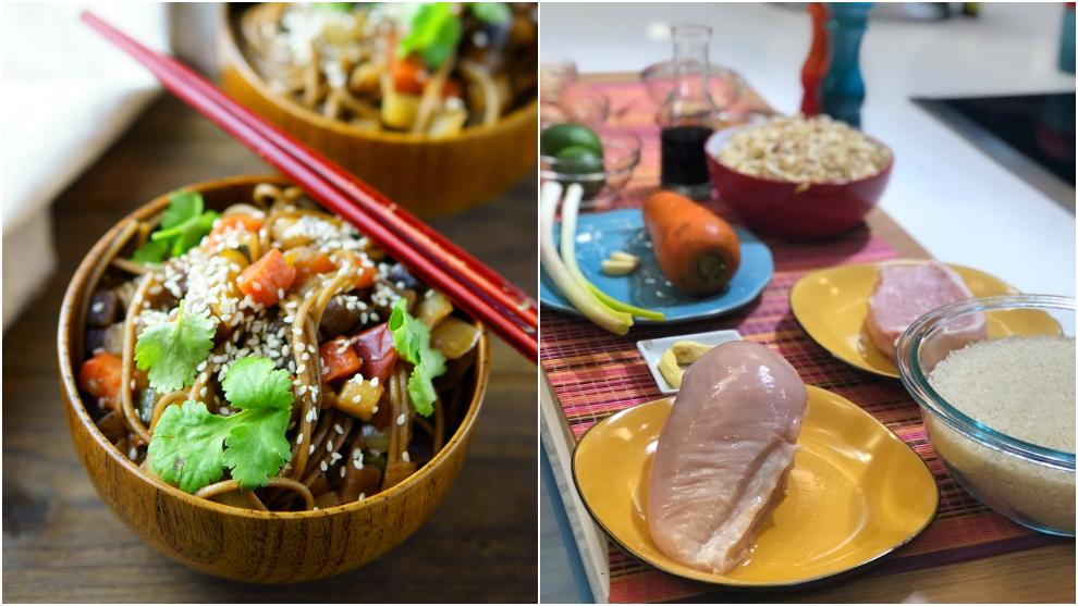 Receta: arroz al wok en casa