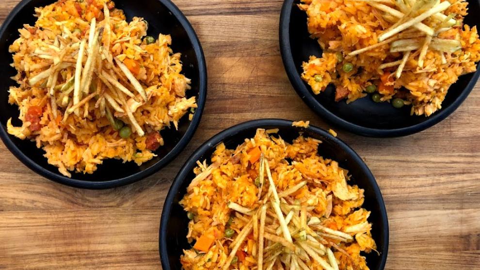 Receta del día: arroz con pollo y chorizo