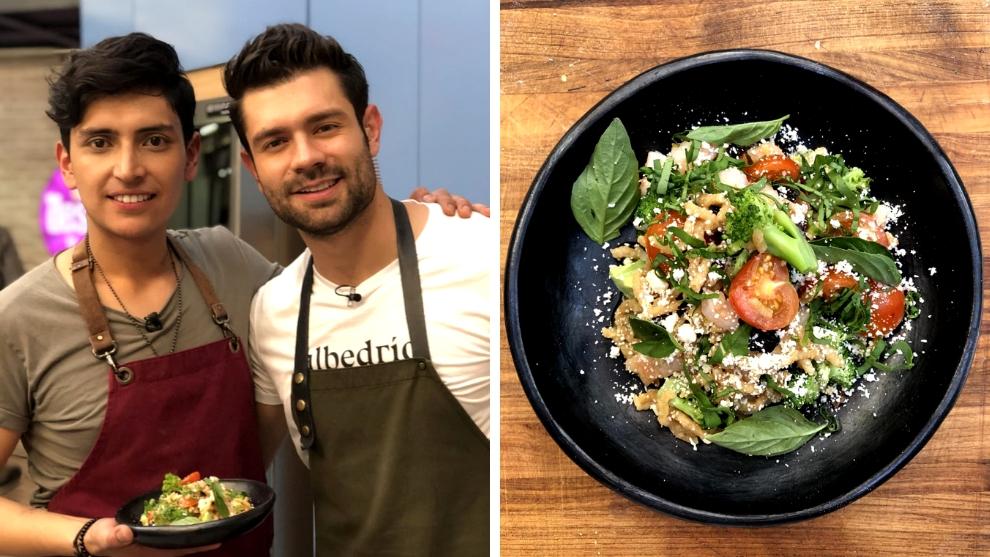 Receta del día: passatelli por el colombiano considerado el mejor chef joven en Italia