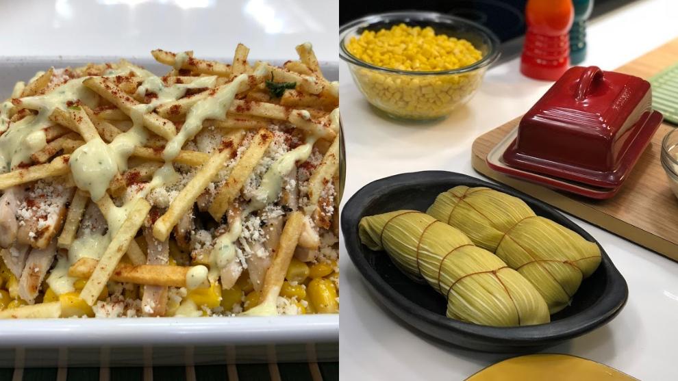 Receta del día: mazorca desgranada con mayonesa de cilantro