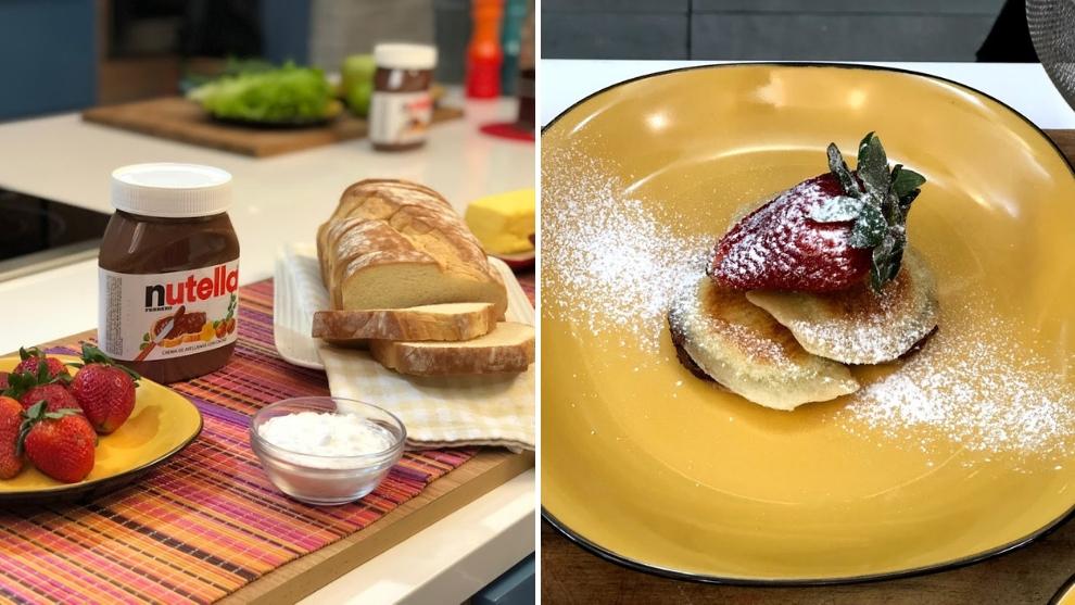 Receta: empanadas con Nutella y fresas