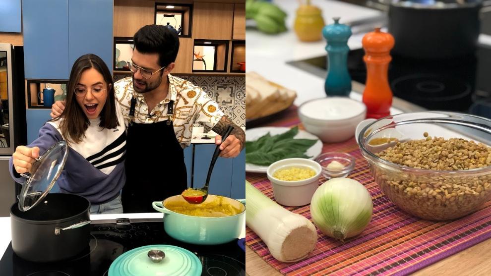 Receta: sopa de lentejas con curry y coco