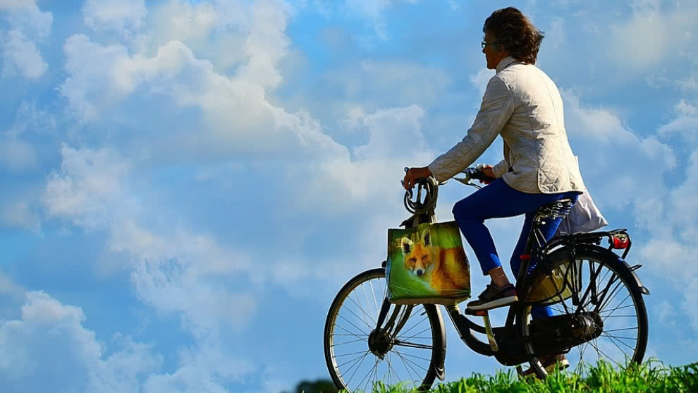 como usar bicicleta