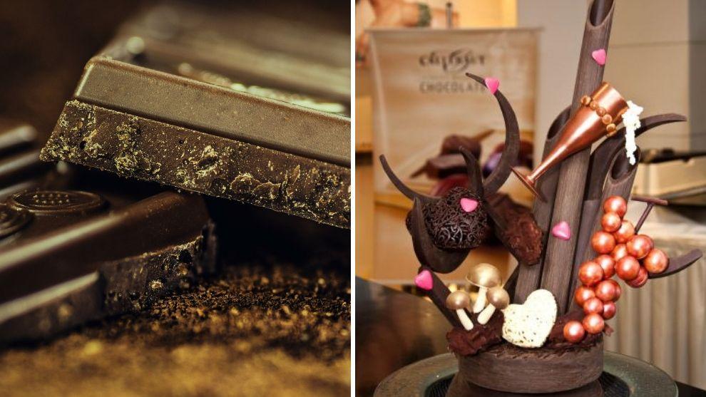 La Tienda de Macla: esculturas de chocolate, un arte comestible