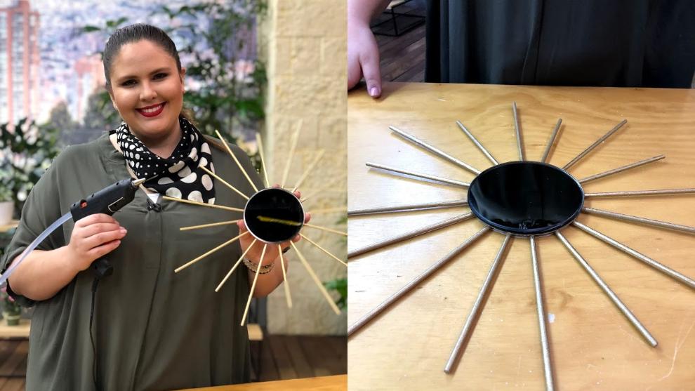 La Tienda de Macla: aprende a hacer un espejo en forma de sol