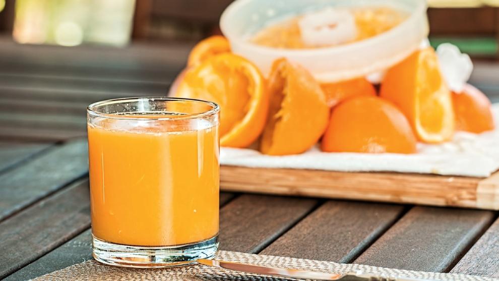 Zumo de Rosita: papaya y naranja