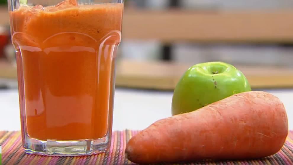 jugo de manzana con apio para adelgazar