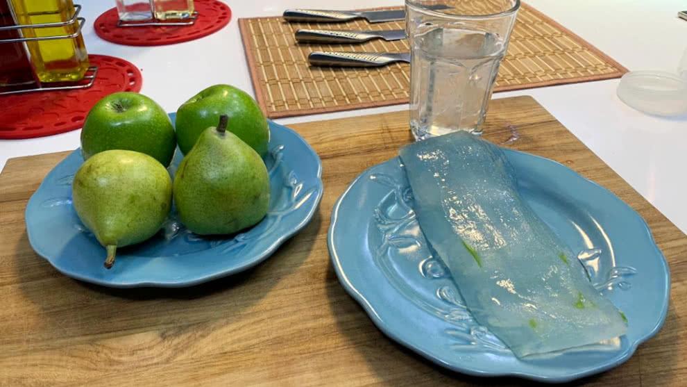 Papaya con aloe vera para adelgazar