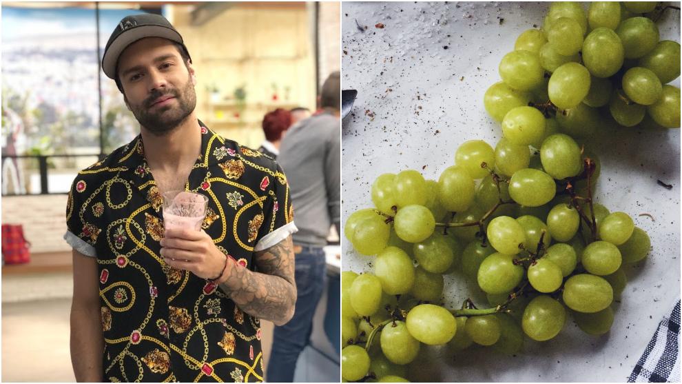 Zumo para dolor lumbar: uva verde, uva roja y piña
