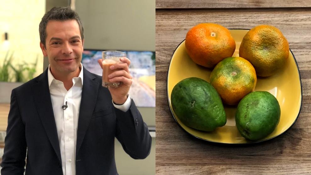 Zumo para el dolor de cabeza: guayaba y mandarina