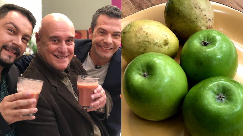 Zumo para limpiar el alma: manzana y guayaba
