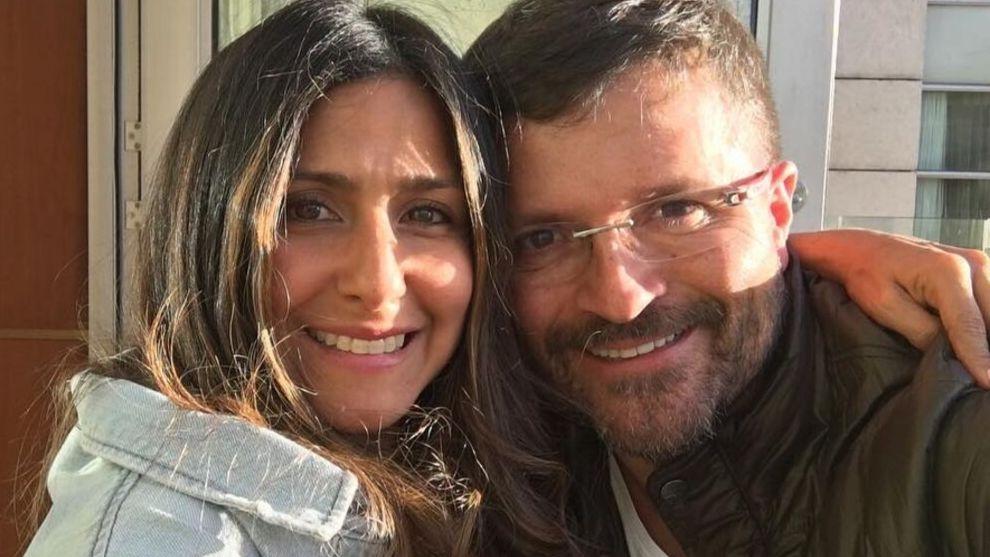 Aida Bossa reacciona a beso de su esposo con Estefania Gomez