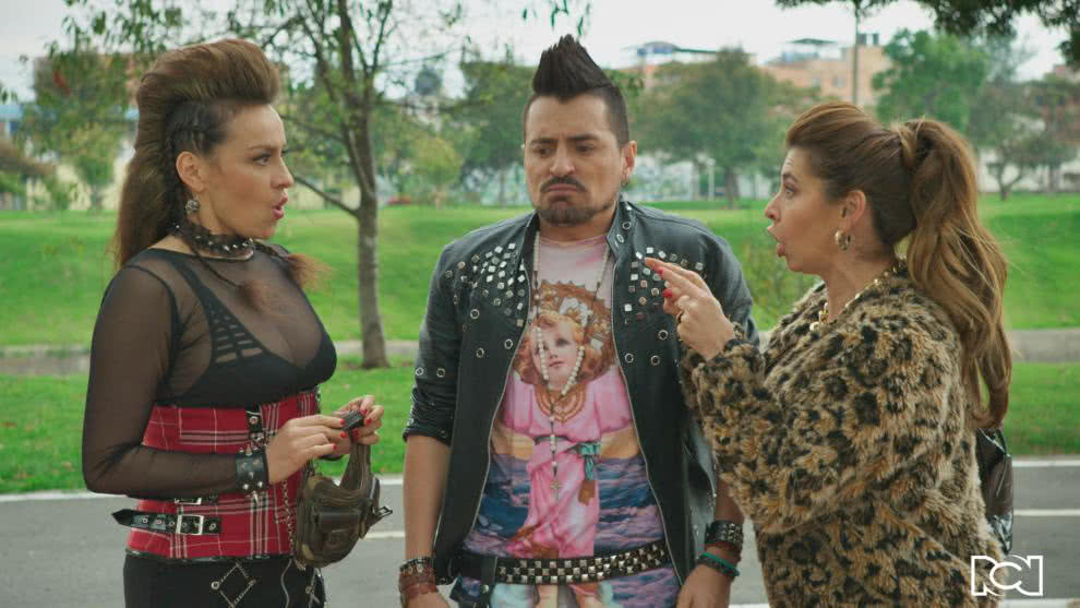 Beso de telenovela