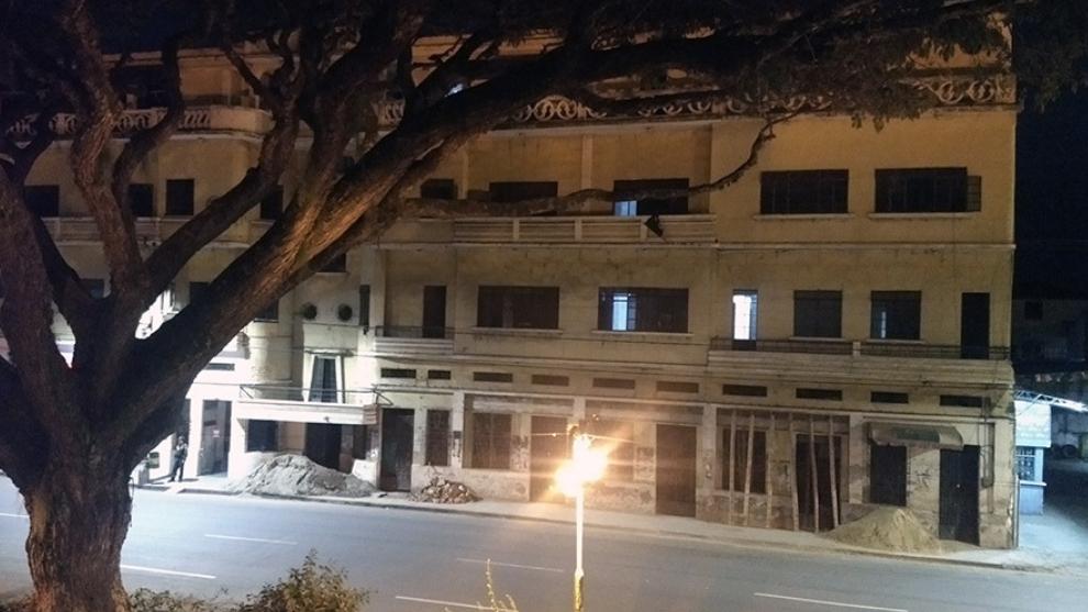El hotel de los fantasmas