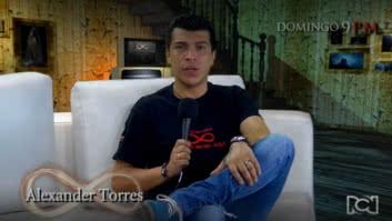 """""""La magia de los espejos es de una responsabilidad enorme"""": Alexander Torres"""