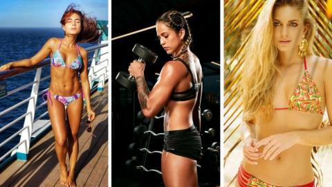 Los cuerpazos de las famosas que compiten por ganar Exatlón Colombia