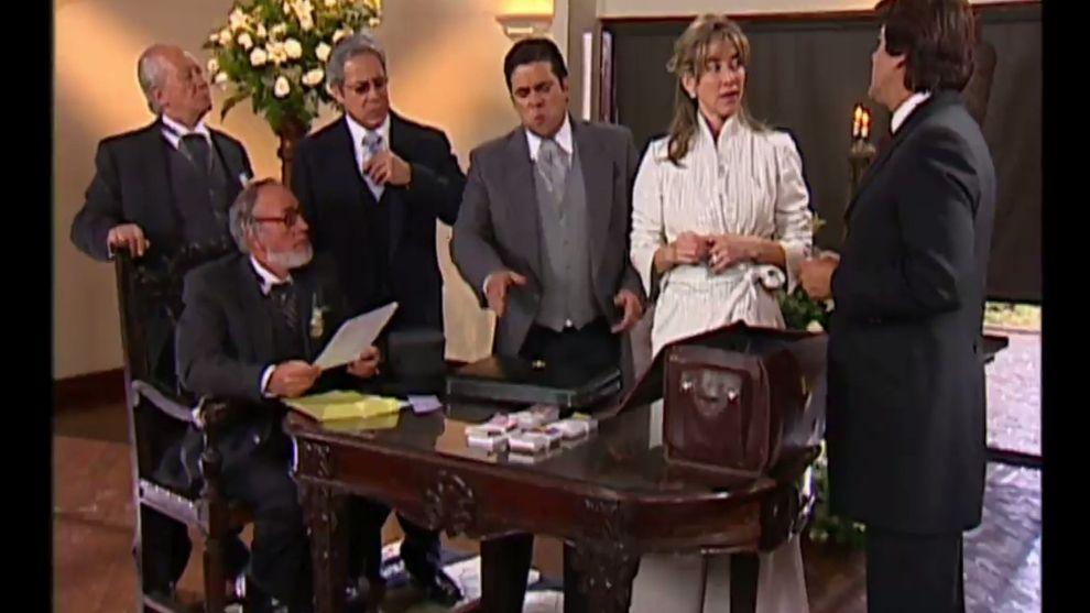 Hasta que la plata nos separe | Capítulo 119 | Méndez intenta detener la boda de Alejandra