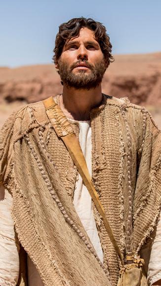 Dudu Azevedo como Jesús de adulto