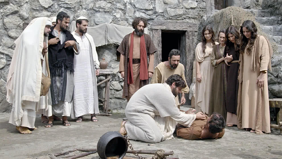 Capítulo 36 - Parte 2 - Jesús libera a un hombre poseído | Jesús