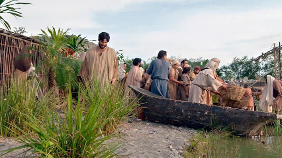 Jesús vuelve a hacer un milagro