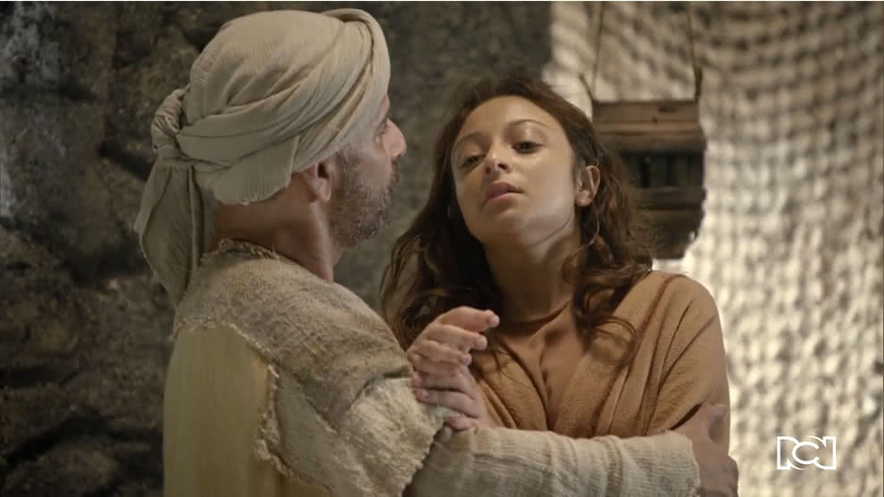 Jesús sana a una joven moribunda